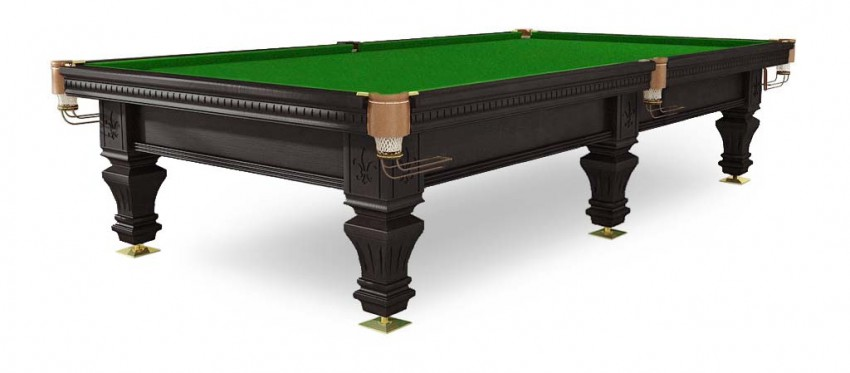 Стол / пирамида Weekend Billiard Company Hardy 9 ф (черный орех, 6 ног, плита 38 мм) 55.985.09.5