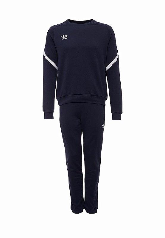Костюм спортивный Umbro Avante Cotton Suit 350117 (091) т.син/бел.