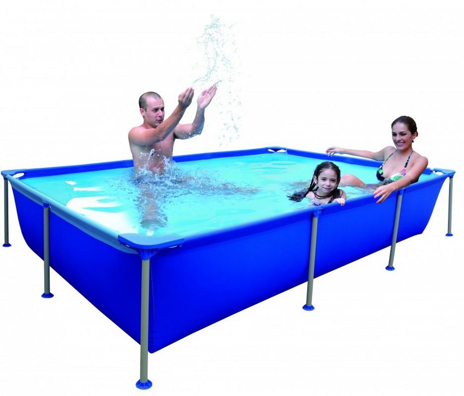 Бассейн каркасный 258x179x66 Jilong Rectangular Steel Frame Pools JL016101NG бассейн jilong jl017442ng rectangular steel frame pools прямоугольный со стальной рамой фильтр насо page 1