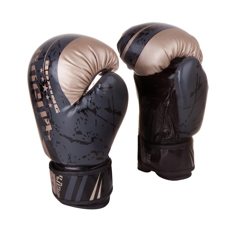 Купить Боксерские перчатки Боецъ BBG-03 Черные 10 oz,