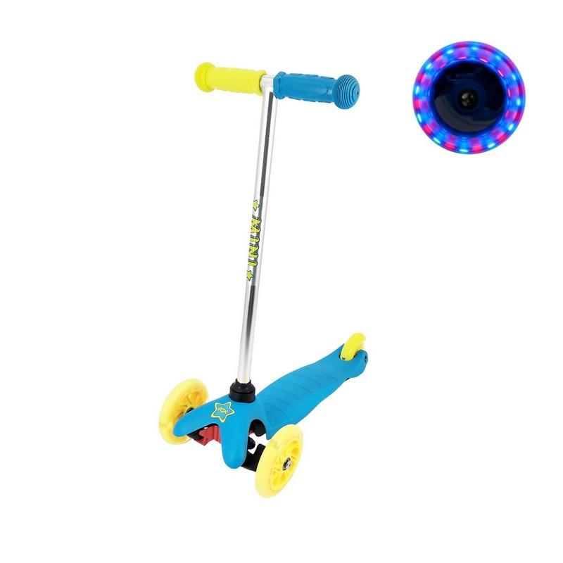 Самокат RGX Mini LED blue