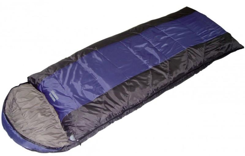 Спальный мешок Trek Planet Walker Comfort т. серый/синий палатка trek planet indiana 4