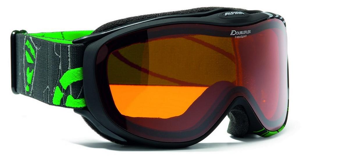 Очки горнолыжные Alpina Freespirint DH black_DH S2
