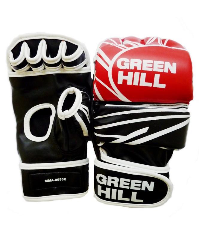 все цены на Перчатки для смешанных единоборств Green Hill MMA-0055R онлайн