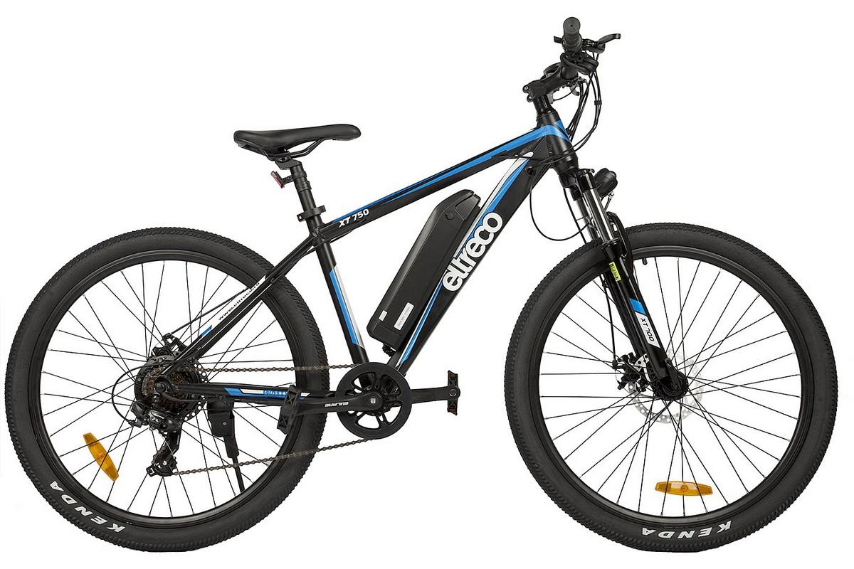 Велогибрид Eltreco XT750 orang