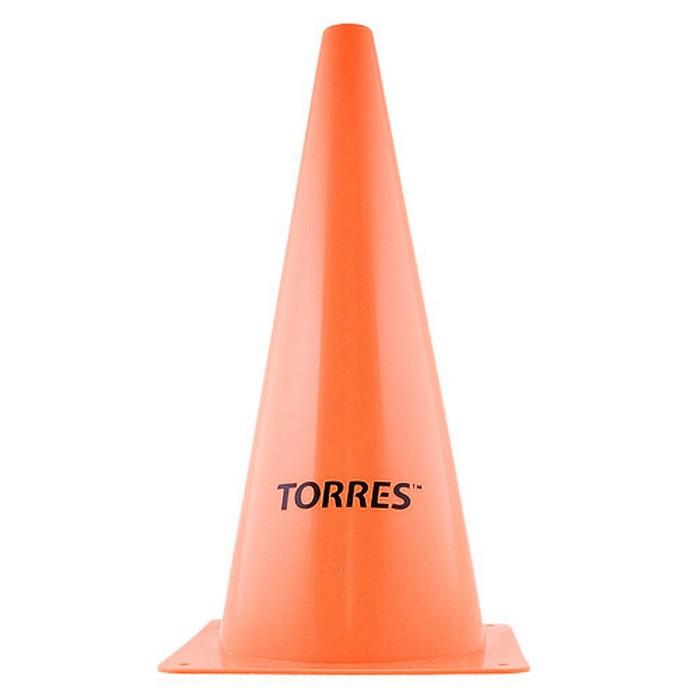 Купить Конус тренировочный Torres пластик, высота 30 см TR1005 оранжевый,