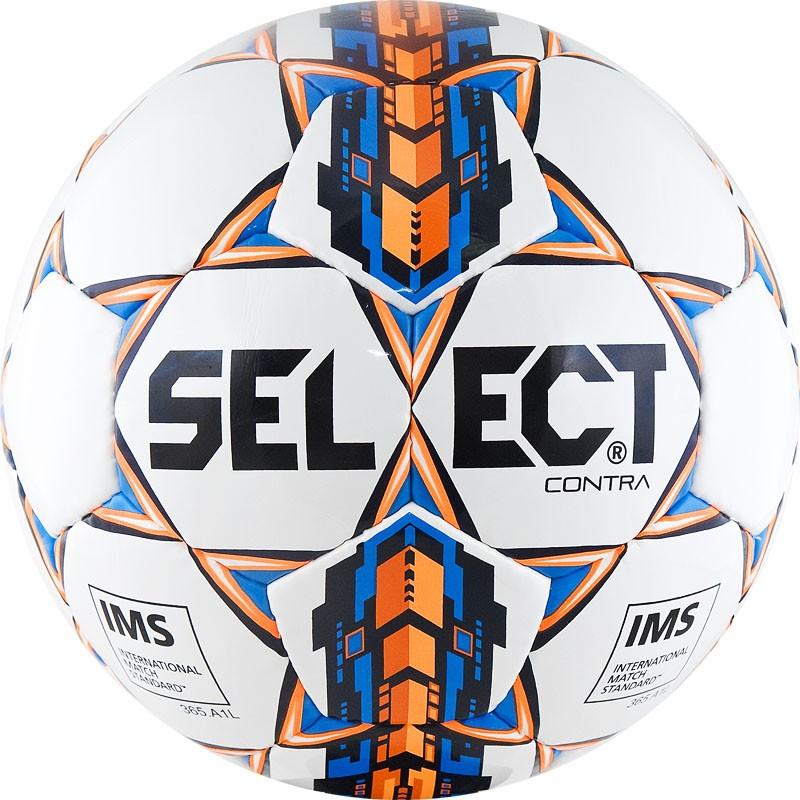Мяч футбольный Select Contra IMS тренировочный, сертификат IMS, 812310-006, р.5 мяч футзальный select futsal talento 11 852616 049 р 3