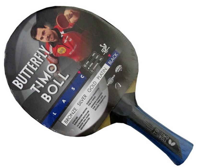 Ракетка для настольного тенниса Buttefly Timo Boll Black CV