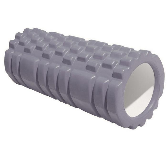 Купить Ролик для йоги Sportex (серый) 33х13,5см ЭВААБС E29389,