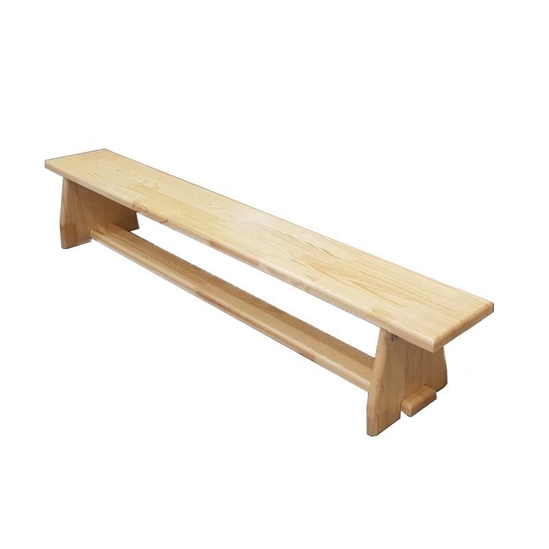 Купить Скамейка гимнастическая 100см щит.сосна, ножки дерево Dinamika ZSO-000014,