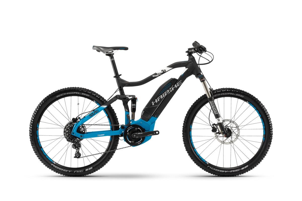 Электровелосипед HaiBike Sduro FullSeven 5.0 400Wh 11s NX (2018)