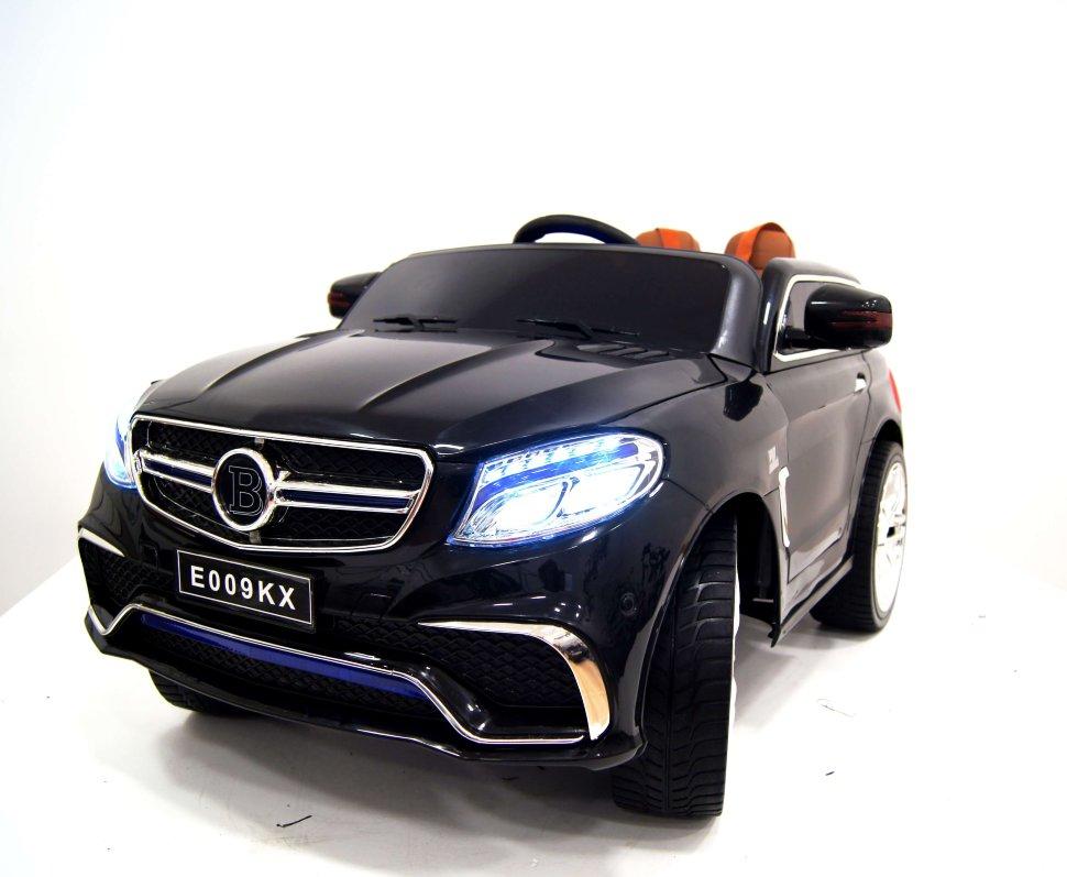 Электромобиль River-Toys Mercedes E009KX черный с ДУ
