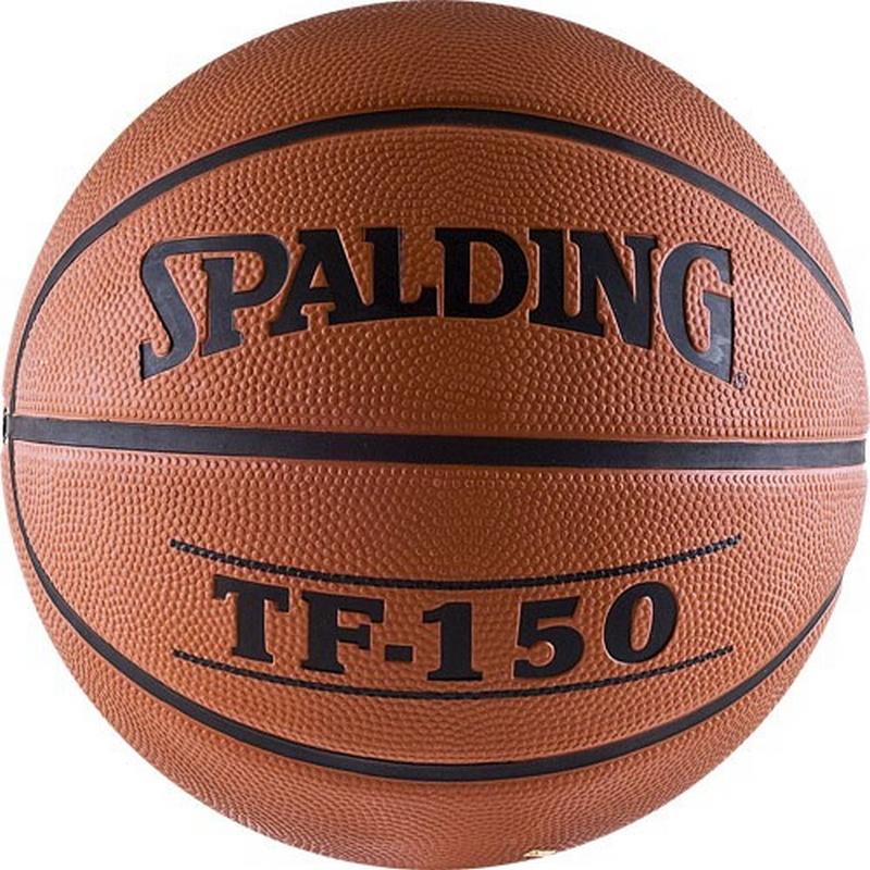 Купить Баскетбольный мяч Spalding TF-150 р.7 73-953z/63-684z, резина,