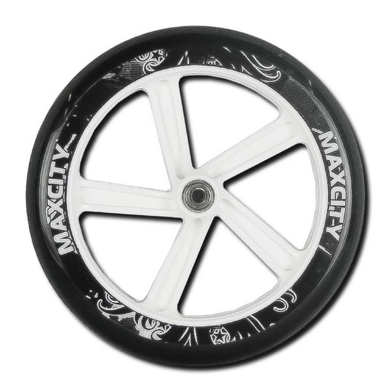 Колеса для самоката MaxCity SC-W230 white аксессуар колеса maxcity lv w90 puc