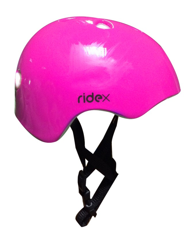 Шлем защитный Ridex Shell розовый