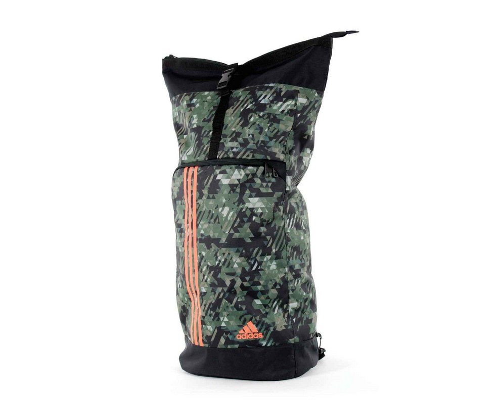 Рюкзак Adidas Training Military Sack Camo S камуфляжно-оранжевый adiACC041C-S сумка спортивная adidas combat camo bag m камуфляжно оранжевая adiacc053 m