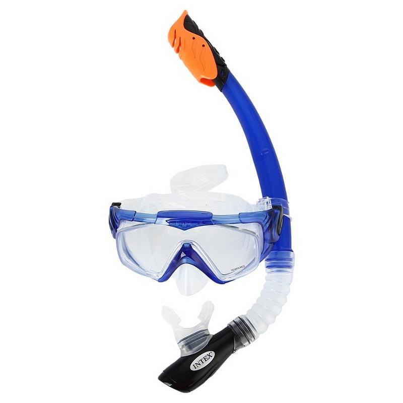 Купить Набор для плавания (маска+трубка) Intex Aqua Pro 55962,