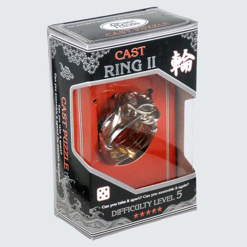 Купить Головоломка Кольцо-2*****/ Cast Puzzle Ring II*****, NoBrand