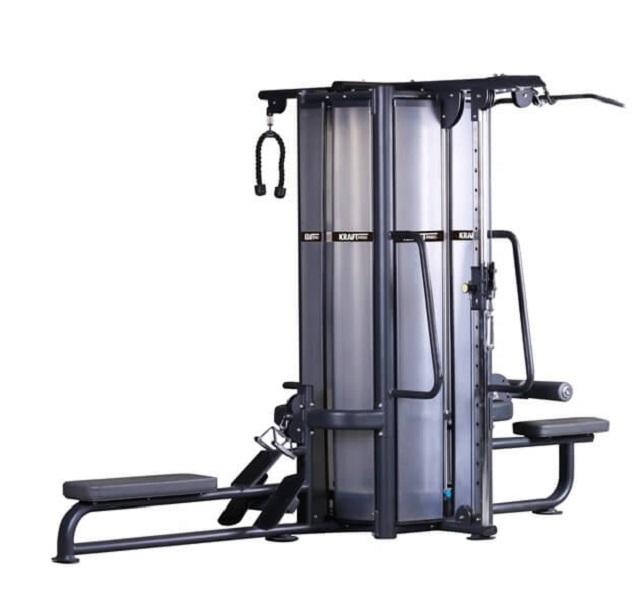 Мультистанция с 4 весовыми стеками Kraft Fitness KFMJ4 беговая дорожка kraft fitness pk12 l