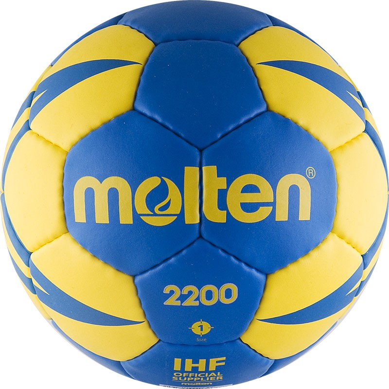 Мяч гандбольный тренировочный Molten H1X2200-BY р.1 от Дом Спорта