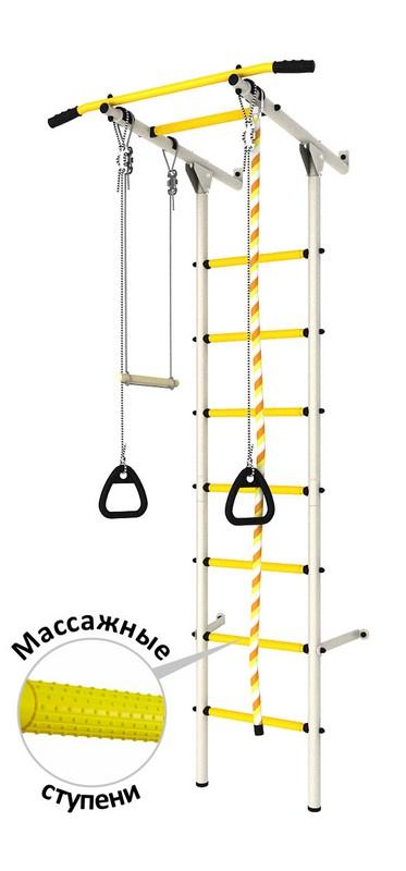 Купить Детский спортивный комплекс DSK Пристенный (с массажными ступенями) ДСКМ-2С-7.06.Г3.410.14-24,