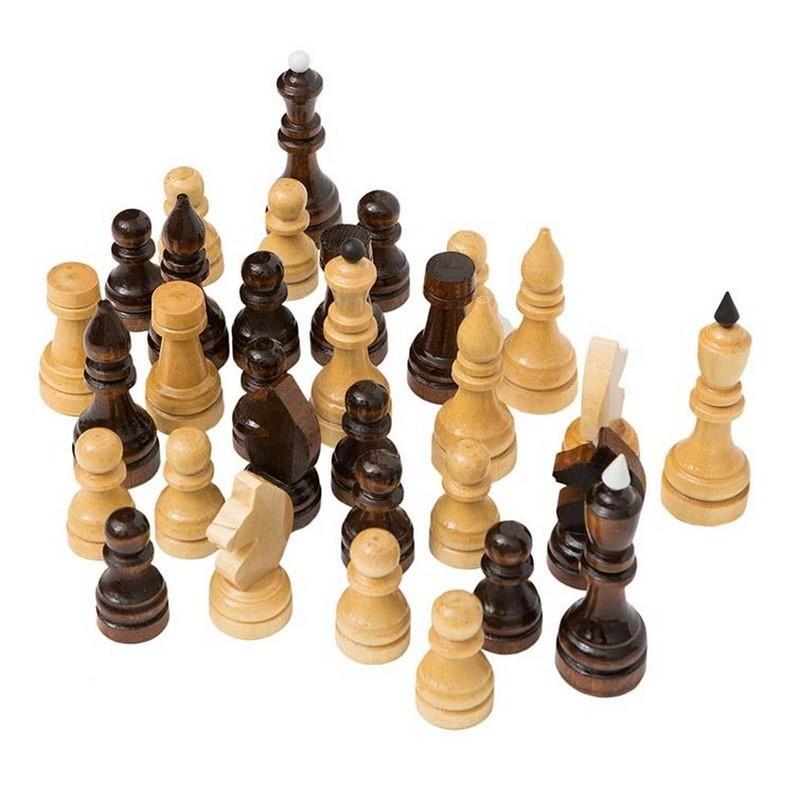 Купить Шахматные фигуры Е-4 турнирные, NoBrand