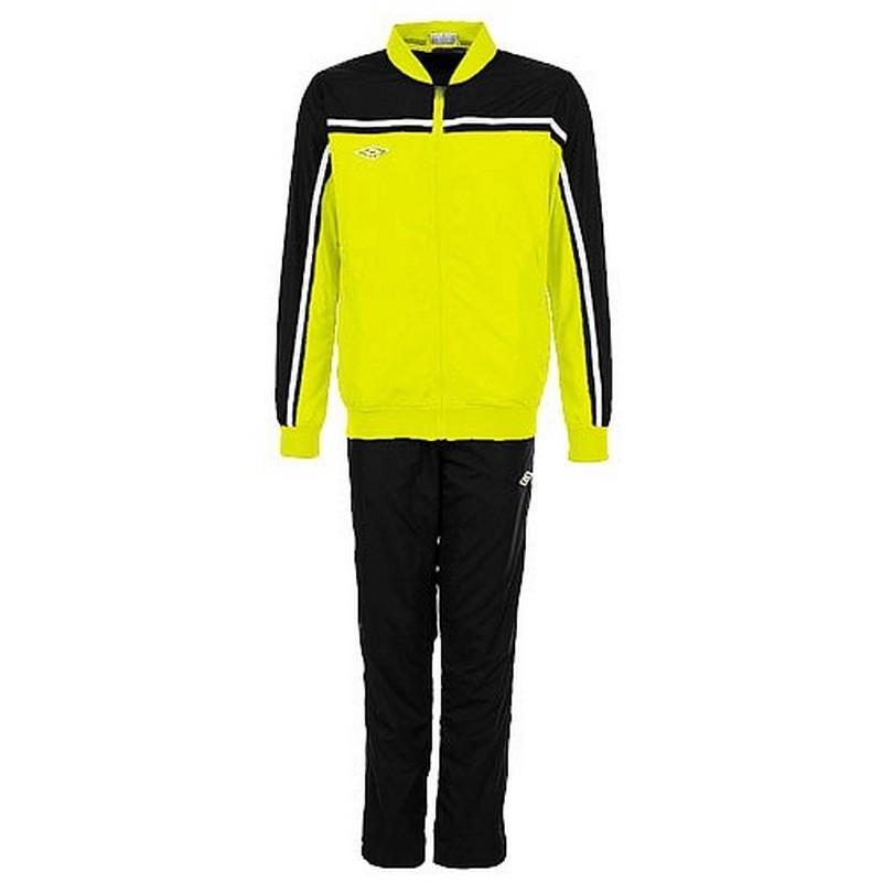Костюм спортивный Umbro Stadium lined Suit мужской 460213 (366) жёл/чер.