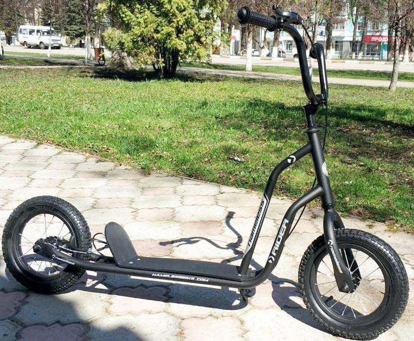 Самокат Nameless Rider SKL-012-AWS, черный nameless