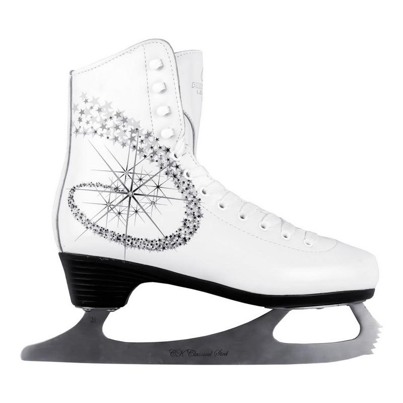 Фигурные коньки СК Princess Lux leather 100% ПГ