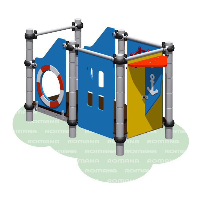 Купить Игровой комплекс Romana 104.01.00, Детские спортивные комплексы, площадки