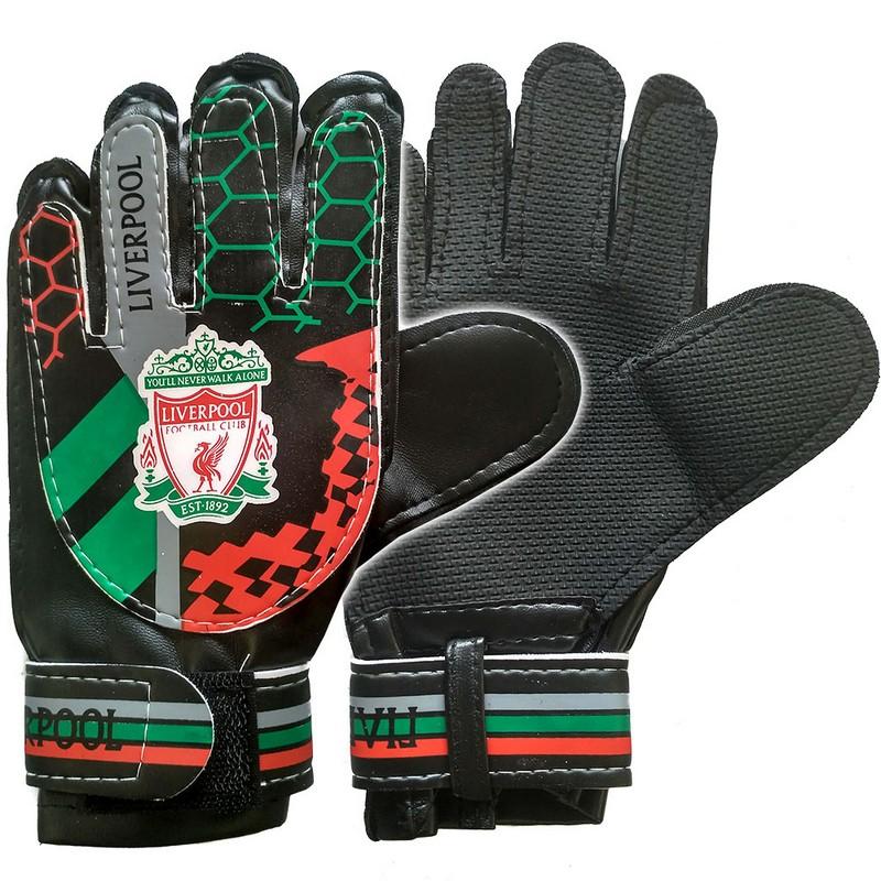 Перчатки вратарские Liverpool E29478-4 фото