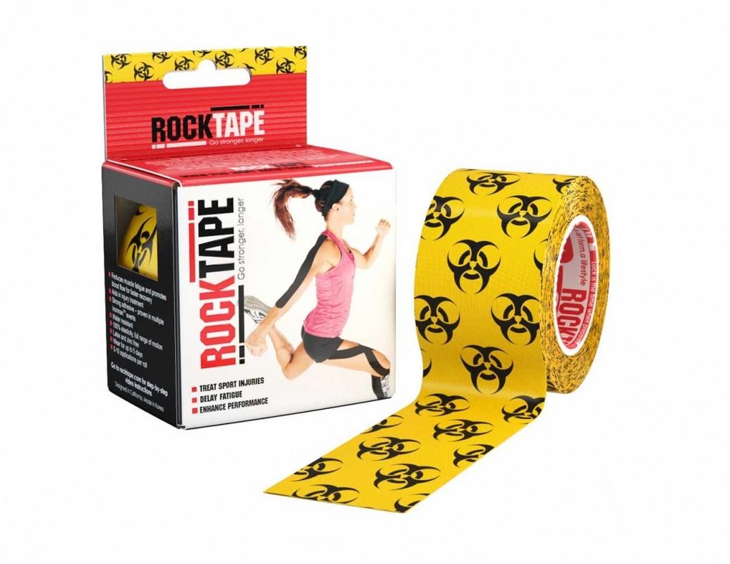 Кинезиотейп RockTape Design, биоугроза 2168 от Дом Спорта