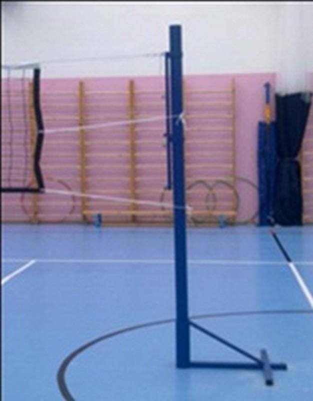 Стойки волейбольные массовые свободностоящие со стаканами Hercules S-109-3