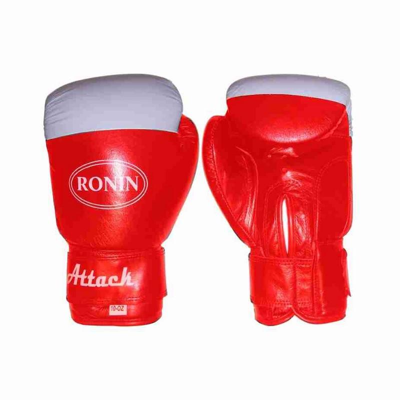 Перчатки боксерские Ronin Attack красные 8 унций Y-716(8)