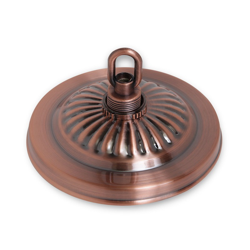Потолочная чашка Fortuna Red Bronze для светильников Alison, Crown