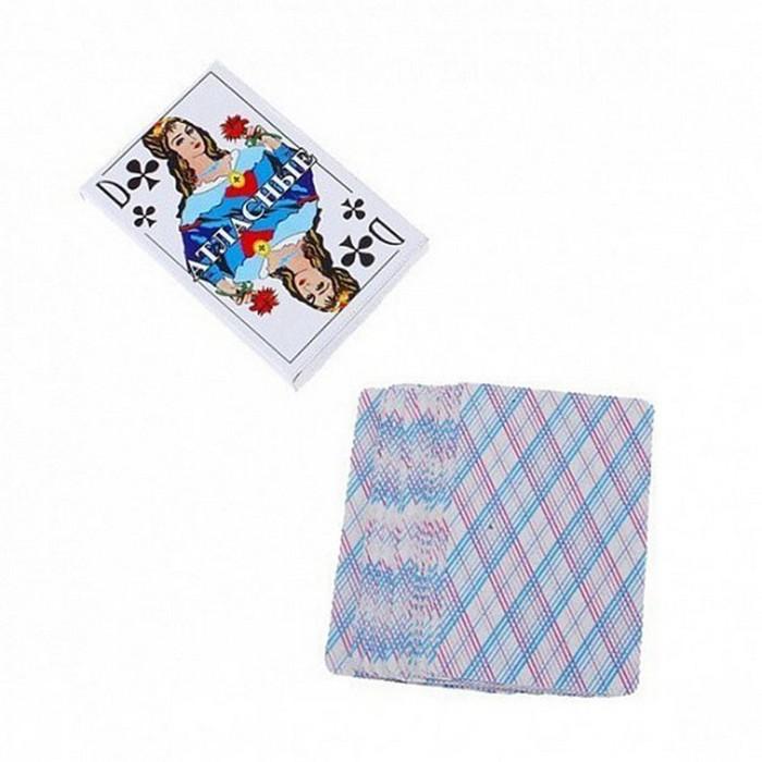 Купить Карты игральные Атласные (36 карт), NoBrand, Деревянный