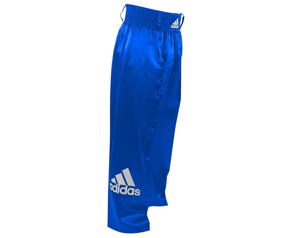 Брюки для кикбоксинга Adidas Kick Boxing Pants Full Contact adiPFC03 синие adidas adidas base plain pants