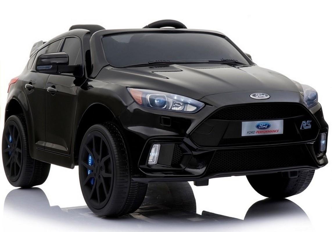Электромобиль River-Toys Ford Focus RS черный мат (лицензия)