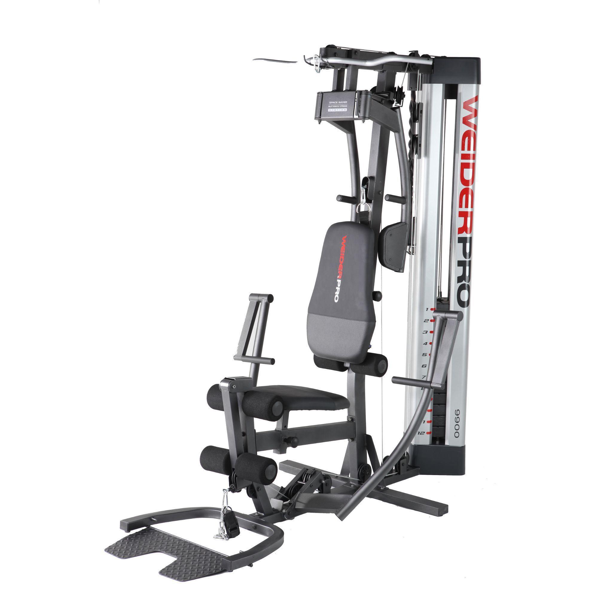 Мультистанция Weider 9900 I жим от плеч верхняя тяга spirit fitness dws103 u2