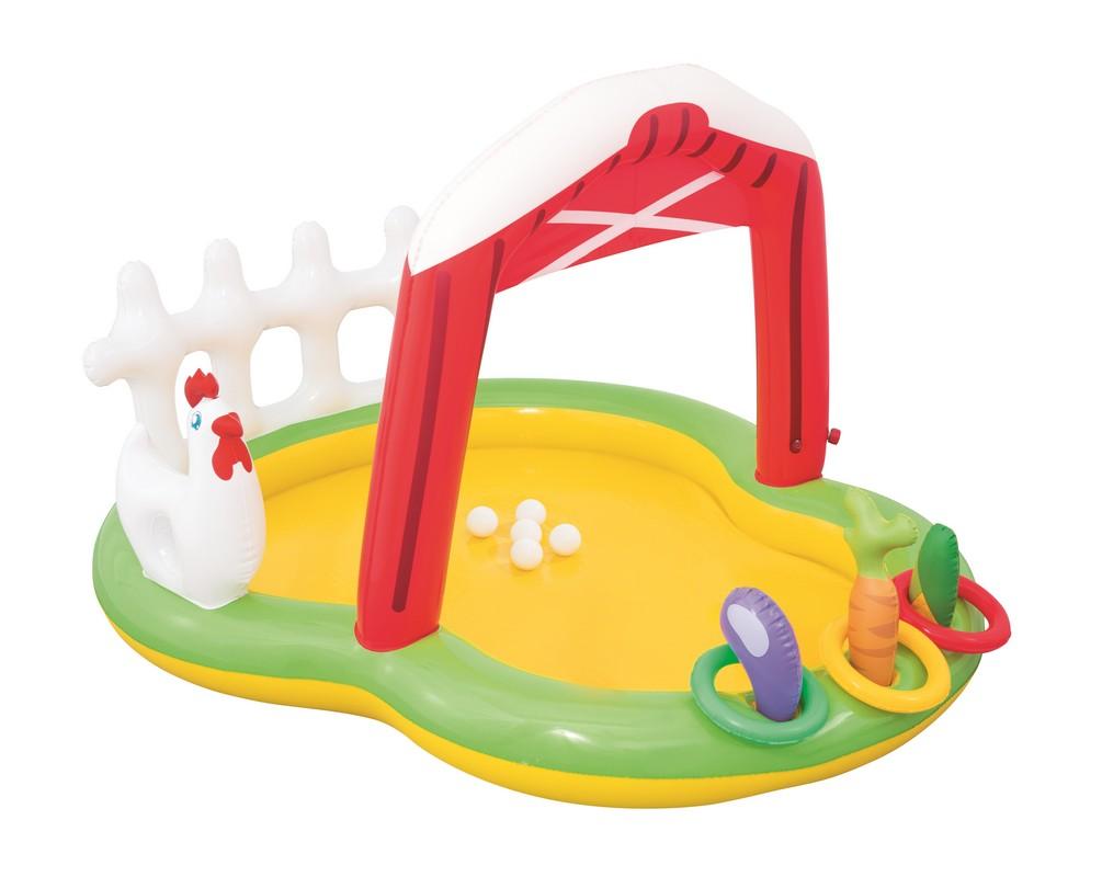 Детский игровой бассейн 175х147x102см Bestway 53065,  - купить со скидкой
