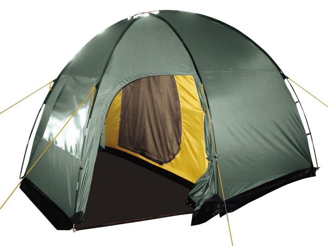 Палатка BTrace Dome 4 T0300 зеленый