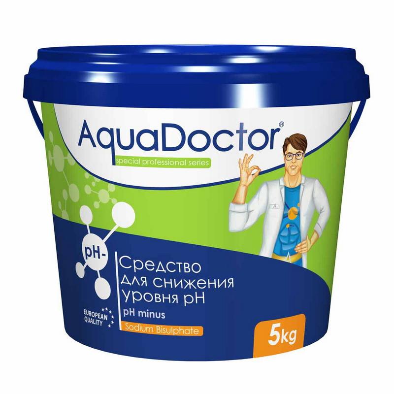 Купить pH Minus AquaDoctor 5 кг (Турция) PHM-5,