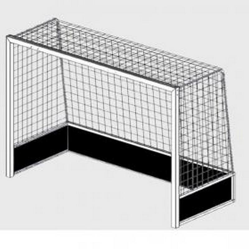 Купить Ворота для хоккея на траве Hercules алюминиевые 3,66х2,14м HB-1P 5379,