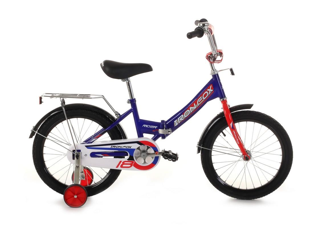 Купить Велосипед Iron Fox Rider 18 (19,18 ) тёмно-синий,