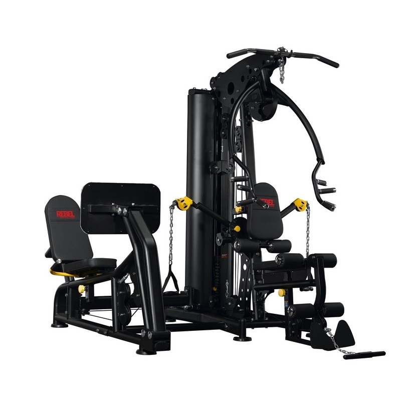 Многофункциональный тренажер с жимом ногами REBEL G9LP RHG09LP
