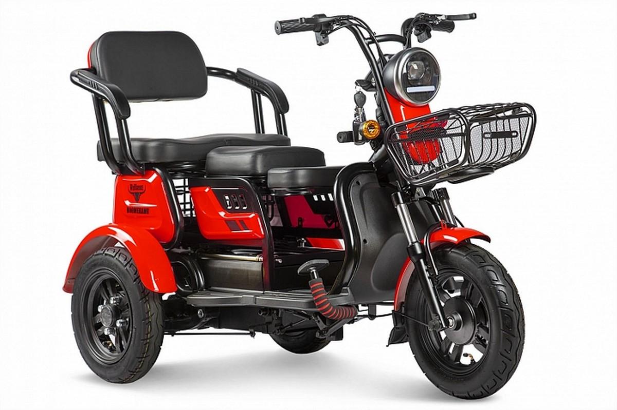 Купить Пассажирский трицикл RuTrike Бумеранг 022656-2339 красный,