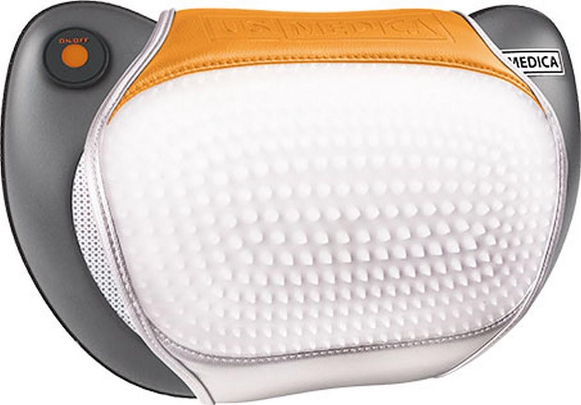 Массажная подушка US Medica Apple Way Plus серая fosta подушка массажная аппликатор арт f0106