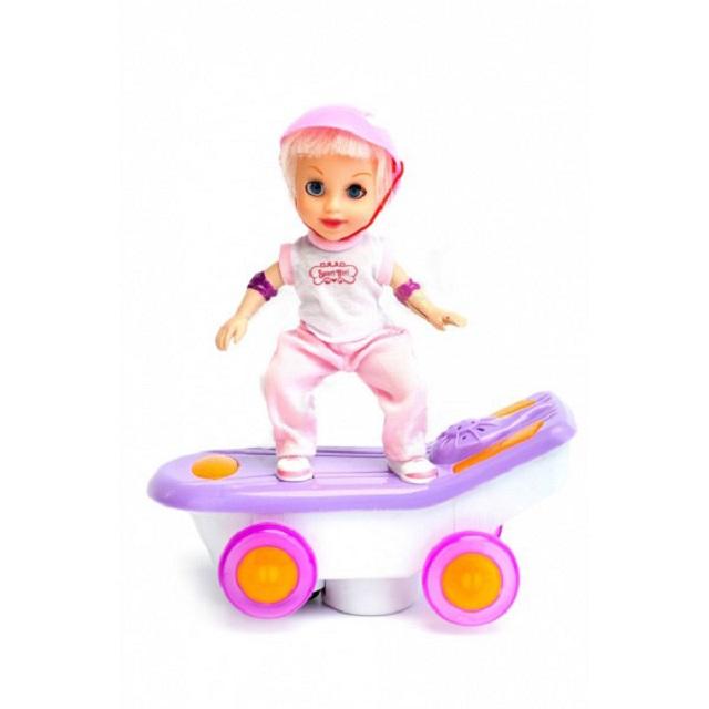 Кукла-скейтбордистка Молли Bradex DE 0164