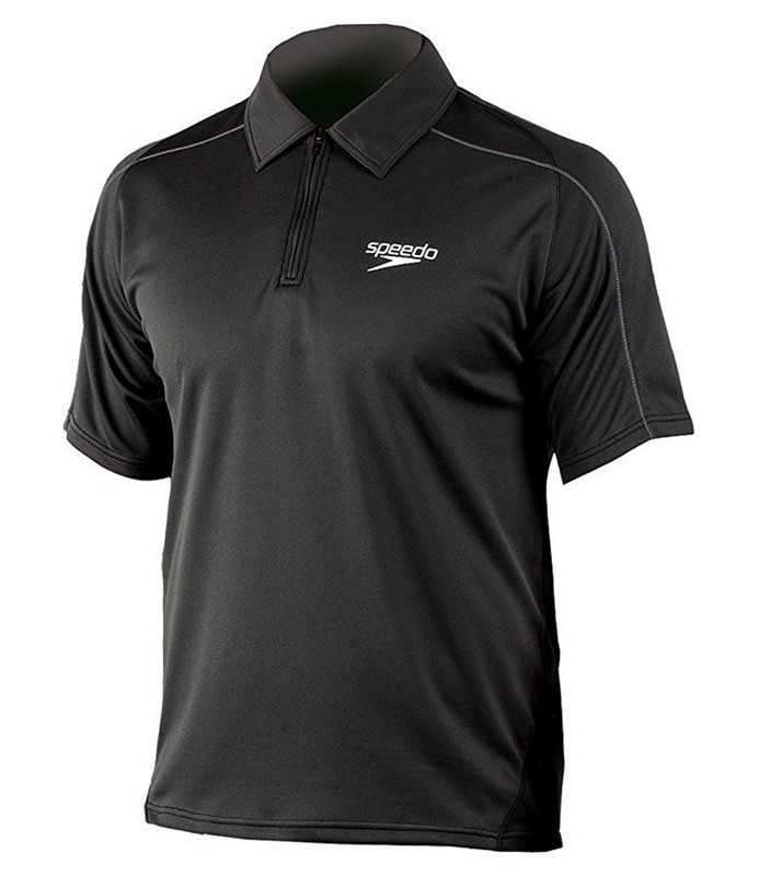 Футболка-поло Speedo Rolle Unisex Technical Polo Shirt (060) черная