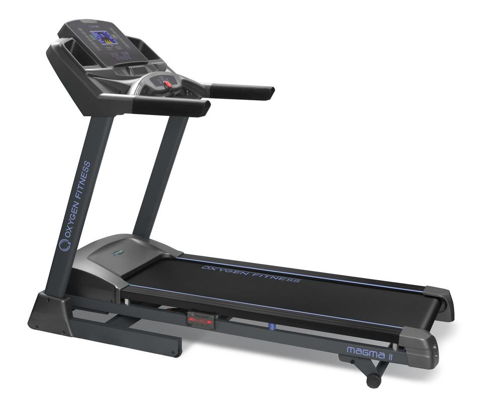 Беговая дорожка Oxygen Fitness Magma II ML HRC беговая дорожка oxygen fitness riviera iii al